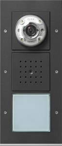 126967 Плоская наружная дверная станция с видеокамерой 1-канальная