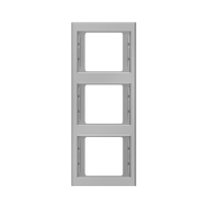 Berker 13337004 K.5 Рамка 3-я, вертикальная сталь серия  купить в Москве, цена в России: опт, розница   smartipad.ru