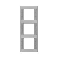 Berker 13337004 K.5 Рамка 3-я, вертикальная сталь серия  купить в Москве, цена в России: опт, розница | smartipad.ru