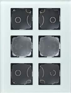 138618 Gira - Накладка для модульной стойки 6-местная  купить в Москве, цена в России: опт, розница | smartipad.ru