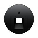 455414072045 Розетка UAE 8-полюсн. экранированная цвет: черный