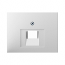 """140770091144.0008.2 Розетка компьютерная 1-я, экранированная 5-й категории, Цвет:""""белый"""""""