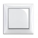 1413-0-1080 (2026 UC-94) BJB Basic 55 Бел Выключатель кнопочный 1-клавишный, НО контакт