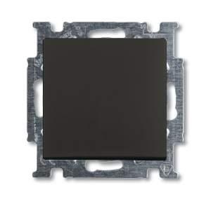 1413-0-1095 (2026 UC-95) BJB Basic 55 Шато (чёрн) Выключатель кнопочный 1-клавишный, НО контакт