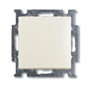 1413-0-1099 (2026 UC-96) BJB Basic 55 Шале (бел) Выключатель кнопочный 1-клавишный, НО контакт