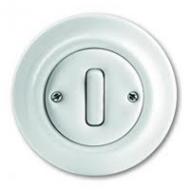 1413-0-1088(2022UJ-64) Decento Выключатель 1-клавишный кнопочный 1НО-контакт,10А, в сборе