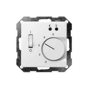 149203 Накладка для термостатов с пов. ручкой и контр. лампой