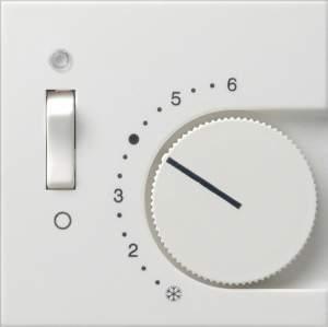 149228 Накладка для термостатов с пов. ручкой и контр. лампой