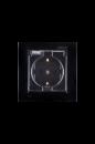1590450-032 15 Чёрный Розетка 2Р+Е Schuko, со шторками, с крышкой, IP44, 16А, 250В, винт.заж.