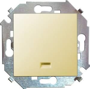 1591104-031 15 Бежевый Выключатель 1-кл с подсветкой, 16А, 250В, винт.заж.