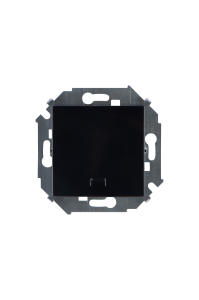 1591104-032 15 Чёрный Выключатель 1-кл с подсветкой, 16А, 250В, винт.заж.