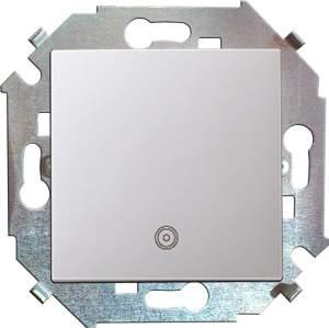 1591150-030 15 Белый Кнопка клавишная с пиктограммой, 16А, 250В, винт.заж.