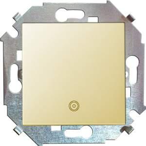 1591150-031 15 Бежевый Кнопка клавишная с пиктограммой, 16А, 250В, винт.заж.