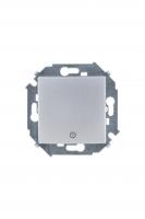 1591150-033 15 Алюминий Кнопка клавишная с пиктограммой, 16А, 250В, винт.заж.