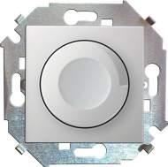 1591311-030 15 Белый Регулятор напряжения поворотно-нажимной, 500Вт, 230В, винт.зажим