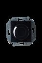 1591311-032 15 Чёрный Регулятор напряжения поворотно-нажимной, 500Вт, 230В, винт.заж.