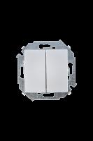1591397-033 15 Алюминий Выключатель 2-кл проходной (переключатель), 16А, 250В, винт.заж.
