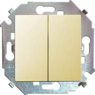 1591398-031 15 Бежевый Выключатель 2-кл, 16А, 250В, винт.заж.