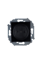 1591444-032 15 Чёрный Розетка 2P со шторками, 16А, 250В, винт.заж.