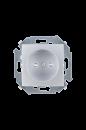 1591444-033 15 Алюминий Розетка 2P со шторками, 16А, 250В, винт.заж.