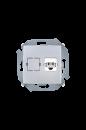 1591480-033 15 Алюминий Розетка телефонная RJ11, винт.заж.