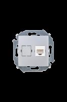 1591598-033 15 Алюминий Розетка компьютерная RJ45 кат.5е