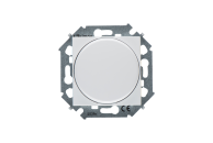1591790-030 15 Белый Регулятор напряж-я поворот.-нажим.электронн., перекл.,500Вт 230В, винт. зажим