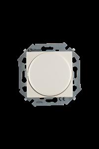 1591790-031 15 Бежевый Регулятор напряж-я поворот.-наж.электрон.,перекл.,500Вт 230В, винт.заж