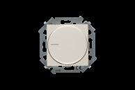 1591796-031 15 Бежевый Регулятор напряжения поворотный для светодиодных регулируемых ламп 230В,5-215Вт