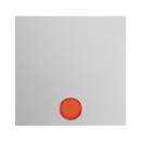 """16211909 Выключатель 1-клавишный с подсветкой, Цвет:""""белый"""""""