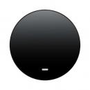 """16212045 Выключатель 1-клавишный с подсветкой, Цвет:""""антрацит"""""""