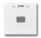 1710-0-3864 (1792-94) BJB Basic 55 Бел Накладка карточного выключателя(мех. 2025U)
