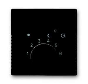 1710-0-3934 (1794-95) BJB Basic 55 Шато (чёрн) Накладка для терморегулятора (мех. 1094 U, 1097 U)