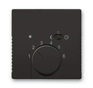 1710-0-3935 (1795-95) BJB Basic 55 Шато (чёрн) Накладка для терморегулятора (мех. 1095 U, 1095 UF-507, 1096 U)