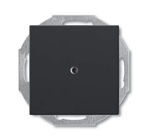 1715-0-0315 (2538-95) BJB Basic 55 Шато (чёрн) Заглушка с суппортом