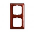 1725-0-1517 (2512-97) BJB Basic 55 Фойе (красный) Рамка 2-ая