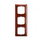 1725-0-1518 (2513-97) BJB Basic 55 Фойе (красный) Рамка 3-ая