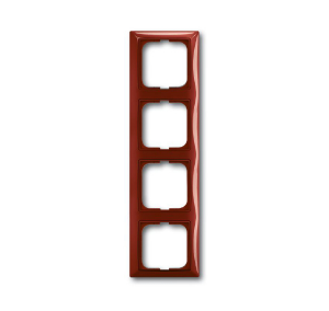1725-0-1519 (2514-97) BJB Basic 55 Фойе (красный) Рамка 4-ая