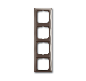 1725-0-1534 (2514-91) BJB Basic 55 Энтре (серый) Рамка 4-ая