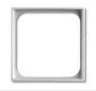 1726-0-0219 (1746-94) BJB Basic 55 Бел Переходник для приборов 50х50 мм