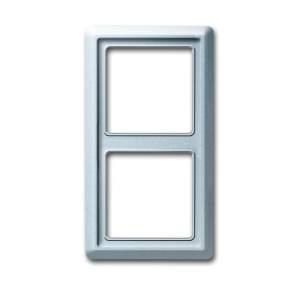1730-0-0278 BJE Allwetter 44 Серебристый алюминий Рамка 2-ая