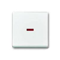 1751-0-2928 BJE Solo/Future Антрацит Клавиша для механизма 1-кл. выкл./перекл./кнопки с крас.линзой