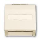 1753-0-0053 (1758-72) BJE Impuls Беж Накладка с суппортом для коммуникационных разъёмов