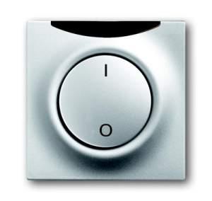 1753-0-0073 (1789 LI-783) BJE Impuls Серебро металлик Клавиша 1-я с подсветкой и симв свет