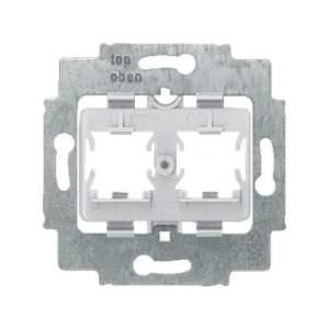 1753-0-8057 BJE Мех Суппорт для 2 разъемов Panduit,с серым.цок.