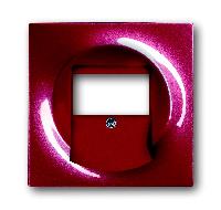 1753-0-0116 BJE Impuls Бордо/ежевика Накладка для механизмов UAE/TAE, для 0247 и 0248