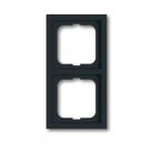 1754-0-4241 (1722-181K) BJE Future Чёрный Антрацит Рамка 2-ая