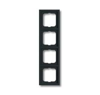 1754-0-4243 (1724-181 K) BJE Future Linear Антрацит Рамка 4-ая