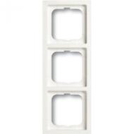 1754-0-4416(1723-884K) BJE Future Linear Белый бархат Рамка 3-ая
