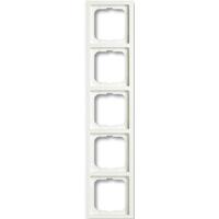 1754-0-4418(1725-884K) BJE Future Linear Белый бархат Рамка 5-ая